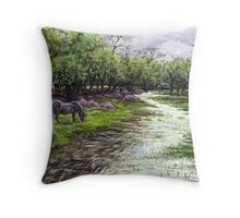 Denny Wood Throw Pillow