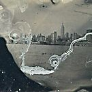 "NYC Skyline with ESB ""tintype"" photograph by ShellyKay"