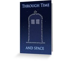 Through Time and Space Greeting Card