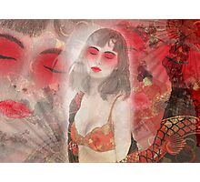 To tell you a geisha story... Photographic Print