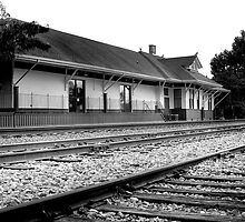 Train Depot by Jonicool