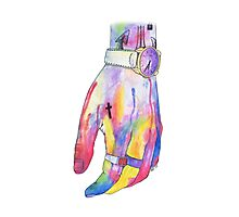 Harry Styles Watercolor Hand Photographic Print