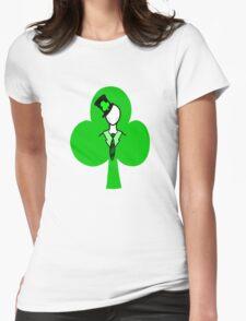 Irish Slenderman Womens Fitted T-Shirt