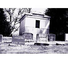 Trek to the Mausoleum Photographic Print
