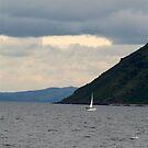 Sail Boat by AndrewBlackie