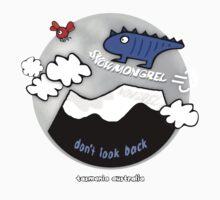 Snow Mongrel - Don't Look Back Kids Tee