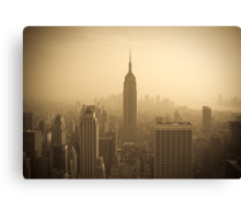 Empire State Building and Manhattan Skyline (Alan Copson ©) Canvas Print