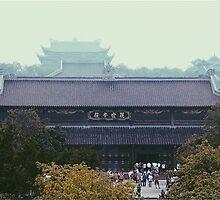 Oriental Pagoda by HangNguyen