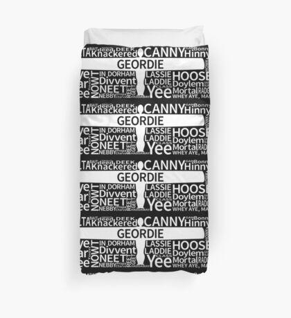 Geordie Slang Duvet Cover