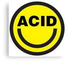 Acid House Canvas Print