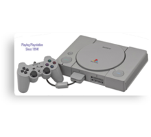 Playstation 1994 Canvas Print