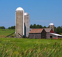 Middlebury Vermont Farm by Deborah  Benoit