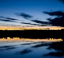 Sunset Symmetry 2 by Chris Rollason