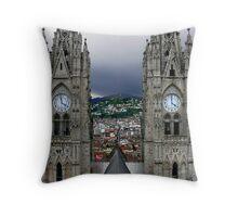 Quito Thunder Throw Pillow