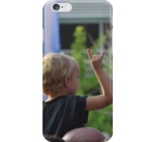 Never too young iPhone Case/Skin