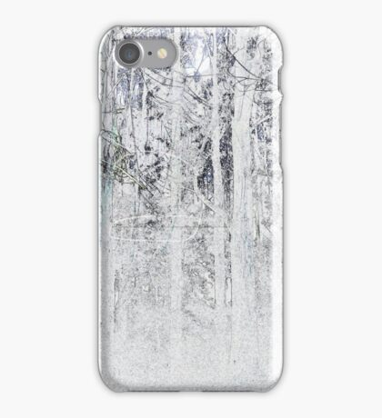 Spiderweb omongst the ashes iPhone Case/Skin