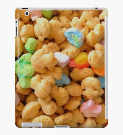 Marshmallow Cereal iPad Case/Skin
