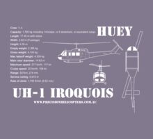 UH-1 Iroquois Helicopter Kids Clothes