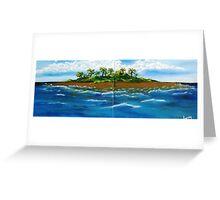 My Lil Island Greeting Card