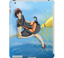 A Delightful Witch Named Kiki iPad Case/Skin