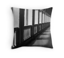 Doges Hallway Throw Pillow