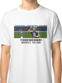 Tecmo Bowl Touchdown Russell Wilson Classic T-Shirt