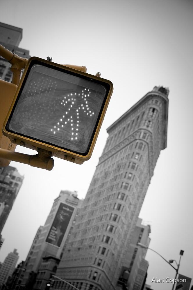Flatiron Building. New York City. by Alan Copson