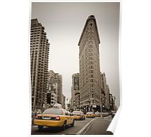 Flatiron Building. New York City. Poster