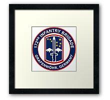 172nd Infantry Grafenwohr Framed Print