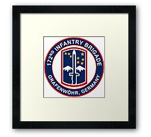 172nd Infantry Grafenwohr Framed Print