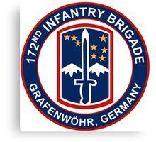 172nd Infantry Grafenwohr Canvas Print