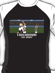 Tecmo Bowl Touchdown Tom Brady T-Shirt