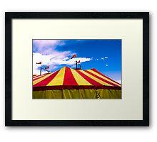 Circus Tent Framed Print