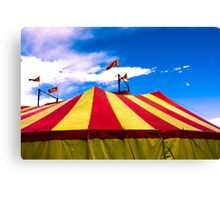 Circus Tent Canvas Print