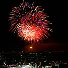 Australia Day fireworks by BigAndRed