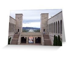 A Canberra View Greeting Card