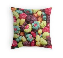 Fruit Shaped Cereal Throw Pillow