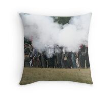 The Rebels Firing Their  Guns Throw Pillow