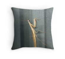 unexpected guest Throw Pillow