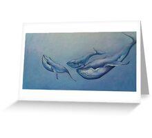 Whale Pod Greeting Card