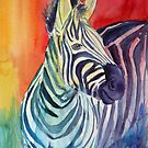 Rainbow Stripes by Lora Garcelon