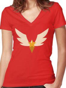 Sailor Starlights - Ribbon - Sailor Moon Women's Fitted V-Neck T-Shirt