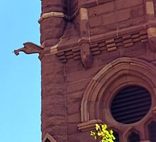Cathedral w/Gargoyle by SteveOhlsen