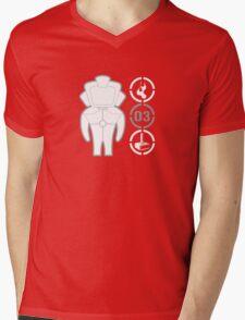 VECTOR BOT Mens V-Neck T-Shirt
