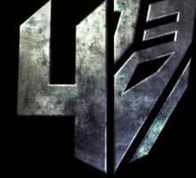 Transformers 4 Sticker