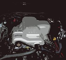 Holden VY Commodore Engine by JBPhotographs
