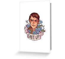 SASS MASTER Greeting Card