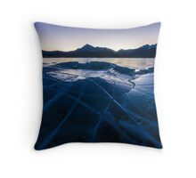 Ice Crater Throw Pillow