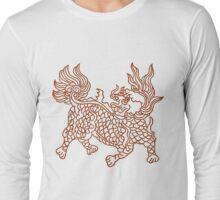Chinese Art Beast Long Sleeve T-Shirt
