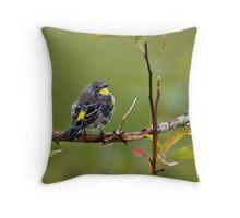 Small Bird: Big Charm Throw Pillow